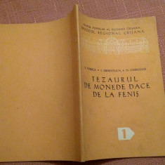 Tezaurul De Monede Dace De La Fenis - E. Chirila, I. Ordentlich, N. Chidiosan