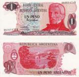 ARGENTINA 1 peso ND (1983-84) P-311 UNC!!!