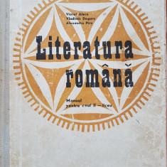 LITERATURA ROMANA. MANUAL PENTRU ANUL II LICEU - Alecu, Dogaru, Piru