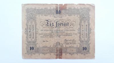 10 Forint 1848 Ungaria , Transilvania foto