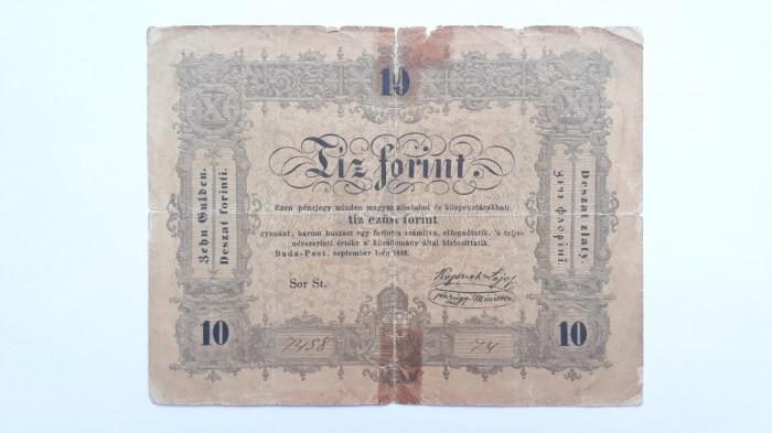 10 Forint 1848 Ungaria , Transilvania