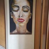 Tablou Acrilik Unicat. 110 x 80 cm#luxury#shine#canvas#, Abstract, Acrilic