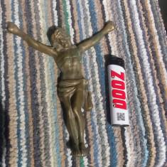 Crucifix din bronz Isus Hristos