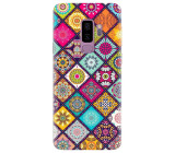 Husa silicon pentru Samsung Galaxy S9 Plus, Mandala Pattern