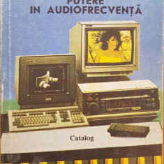 CIRCUITE INTEGRATE AMPLIFICATOARE DE PUTERE IN AUDIOFRECVENTA - Danci, Turuta