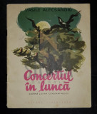 ALECSANDRI VASILE - CONCERTUL IN LUNCA (Poveste pentru Copii cu Ilustratii de STEFAN CONSTANTINESCU), 1959, Bucuresti, Vasile Alecsandri