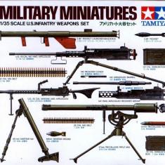 + Kit arme 1/35 Tamiya 35121 - U.S. Infantry Weapons Set +