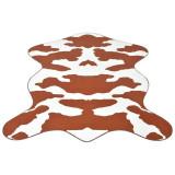 Covor formă văcuță, imprimeu văcuță 150 x 220 cm, maro