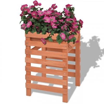 Jardinieră 38 x 36 x 60 cm, lemn foto