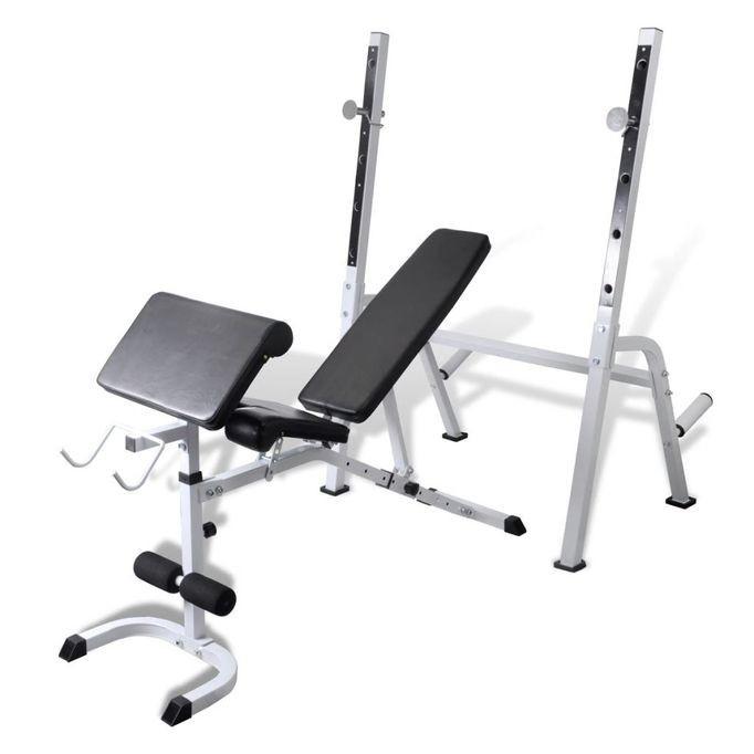 Bancă fitness multifuncțională pentru exerciții forță foto mare