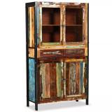Dulap înalt, lemn masiv reciclat 100x40x175 cm