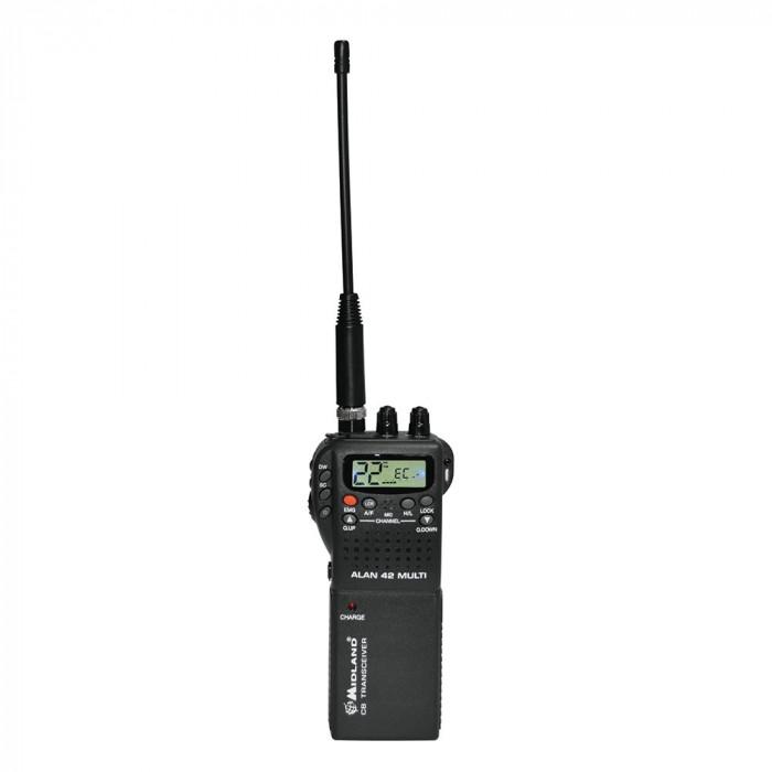 Resigilat : Statie radio CB portabila Midland Alan 42 Multi Cod C480.13