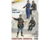 + Kit figurine 1/35 Zvezda 3504 - Soviet tank crew +