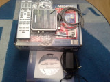 TV TUNER USB ANALOG+DVBT MEDION MD 95700 +ACCESORII.FUNCTIONEAZA DOAR PE WIN XP!, DVB-T, Extern (necesita PC)