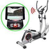 Bicicletă eliptică programabilă cu greutate 18kg, XL, Smart App