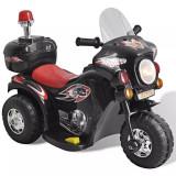 Motocicleta de jucărie electrică Negru