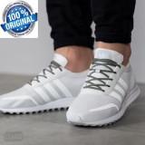 """ADIDASI ORIGINALI 100%  Adidas  LOS ANGELES """"WHITE """"  din germania Unisex nr  40"""