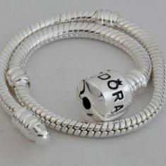Bratara model PANDORA + 1 talisman inima cadou, Femei