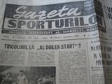Ziarul Sportul (21 decembrie 1990)