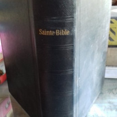 LA SAINTE BIBLE (BIBLIA)