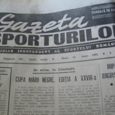 Ziarul Sportul (18 iunie 1990)