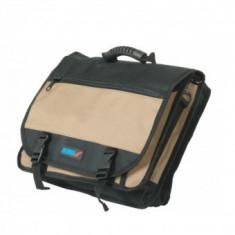 Geanta rezistenta pentru laptop sau scule cu 27 buzunare Dedra M360.042, Maro, Heavy-duty
