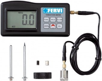 Tester pentru vibratii FERVI Italia - V001