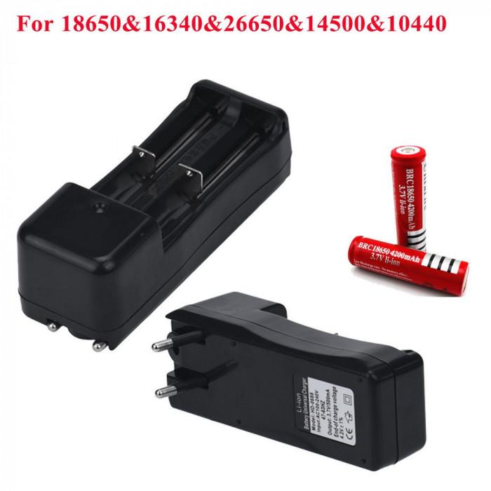 Incarcator DUAL pt acumulator , baterie reincarcabila 3.7V 600mA C145