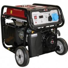 Generator monofazat benzina Senci SC-6000E, 5.5kW, AVR inclus, demaraj electric