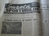 Ziarul Sportul (9 noiembrie 1990)