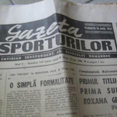 Ziarul Sportul (15 mai 1990)