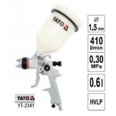 Pistol de vopsit cupa sus, duza 1.5mm, Yato YT-2341