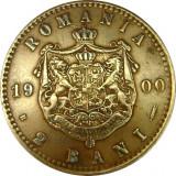ROMANIA, 2 BANI 1900 * cod 86.8.18, Cupru (arama)