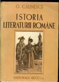 George Calinescu - Istoria Literaturii Romane,  Compendiu, 1945, editie princeps