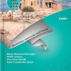 Istorie - Clasa 5 - Manual + CD - Maria Mariana Gheorghe, Vasile Ionescu