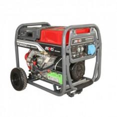 Generator de curent Senci SC-8000DE, 7000W, 230V, diesel, AVR, demaraj electric