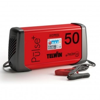 Redresor auto TELWIN PULSE 50, 6/12/24 V, max. 45 A, incarcare rapida Boost foto