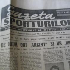 Ziarul Sportul (14 mai 1990)