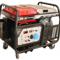 Generator monofazat 12kW cu automatizare Senci SC-13000 ATS