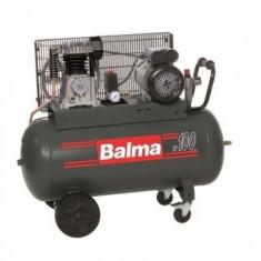Compresor de aer Balma NS12S-100 CM3, debit aspirat 320 l/min, 100 L, 10bar, 230V