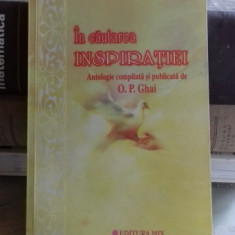 IN CAUTAREA INSPIRATIEI - O.P.GHAI