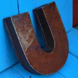 MATRITA / FORMA VECHE PENTRU COZONAC - FACUTA DIN TABLA IN FORMA DE POTCOAVA