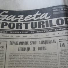 Ziarul Sportul (21 iunie 1990)