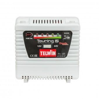 Redresor automat 12/24 V, TELWIN TOURING 15, max. 9 A