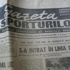 Ziarul Sportul (2 mai 1990)
