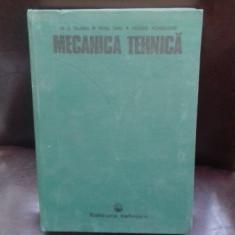 MECANICA TEHNICA - VIRGIL OLARIU
