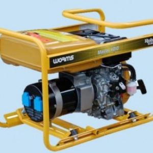Generator curent Monofazat Diesel Subaru Master 4010 DXL15, 3.3kVA
