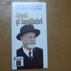 Ideal si impliniri omagiu prim rabinului Ernest Neumann