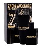 Apa de toaleta Zadig & Voltaire Just Rock! Barbatesc 50ML Edt 50 ml + Shower Gel 100 ml
