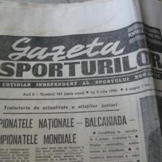 Ziarul Sportul (5 iulie 1990)